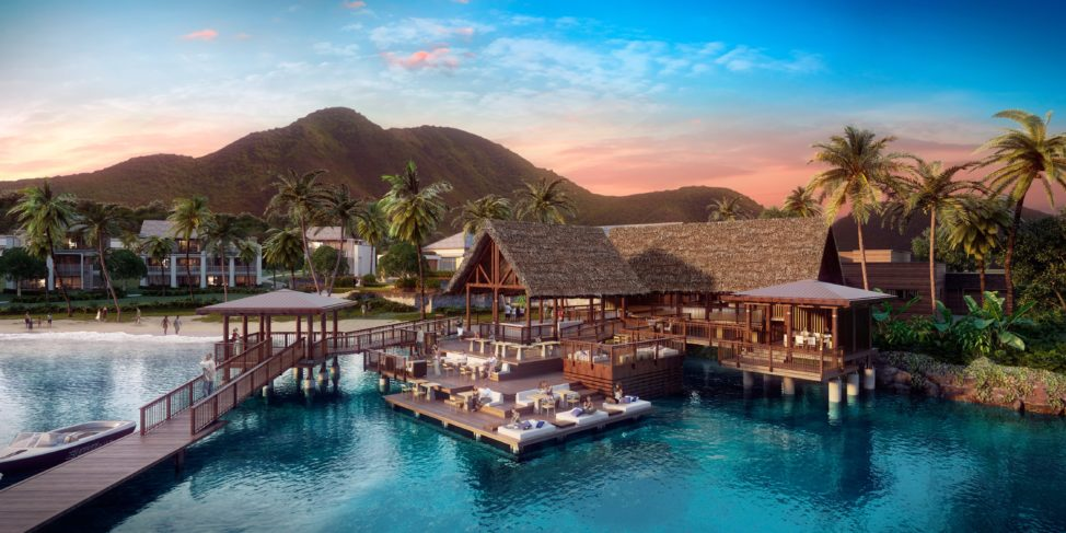 Rendering of the new Park Hyatt St. Kitts