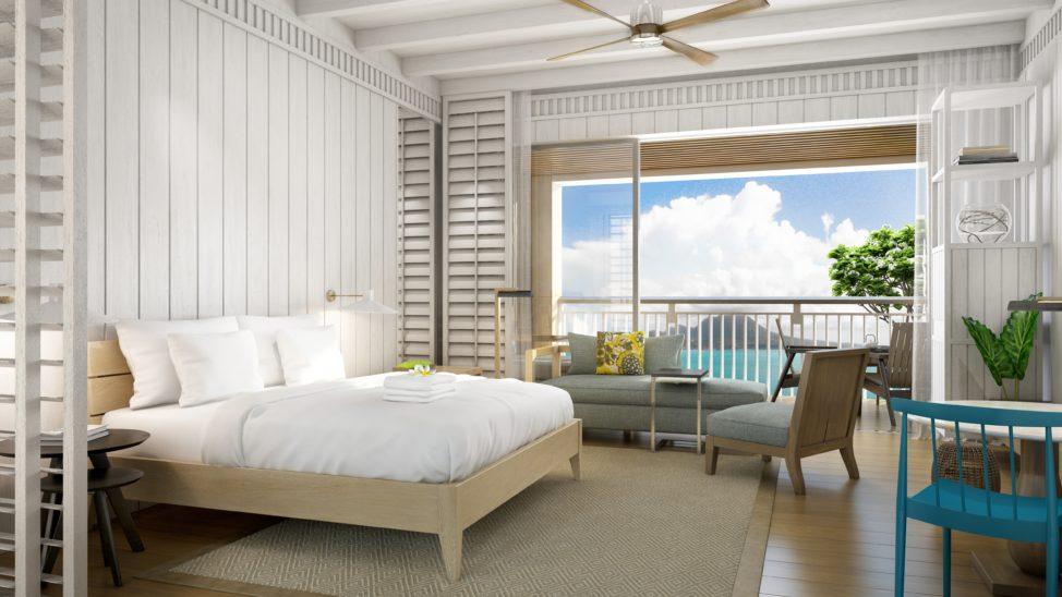 Rendering of the new Park Hyatt St. Kitts