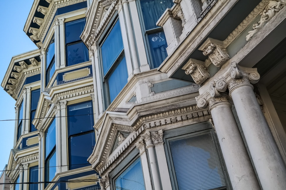 Visiting Oakland: The beautiful homes in Haight Ashbury