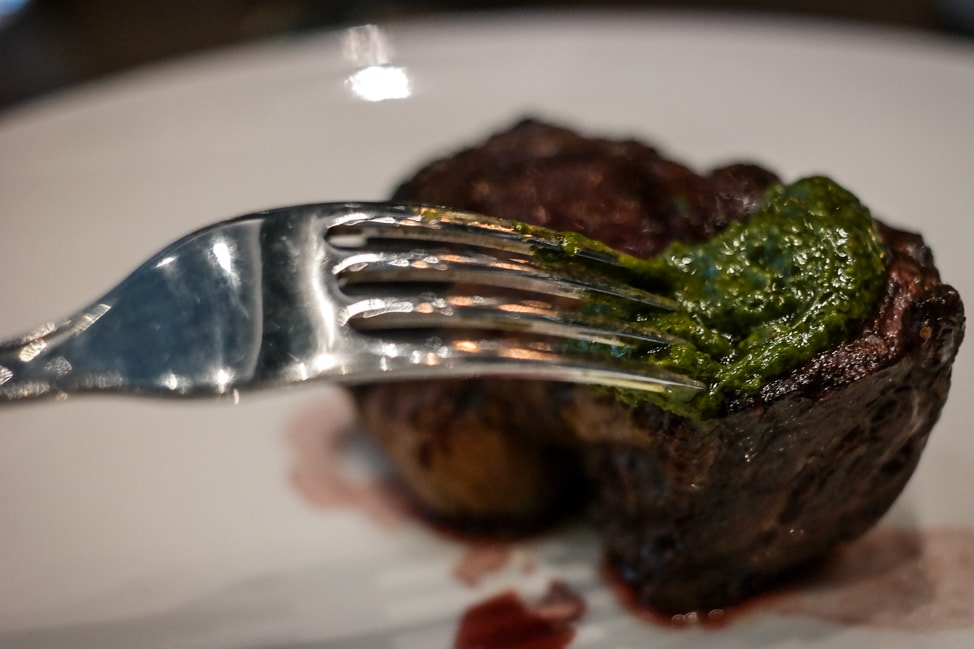 200g rump steak at M Threadneedle Street