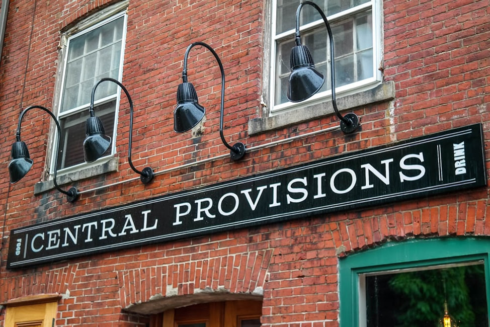where to eat in Portland, Maine: Central Provisions