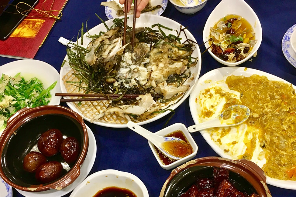Epic meal in Shanghai