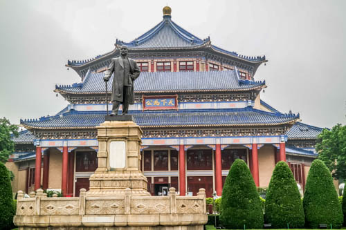Things to do in Guangzhou, China: the Yat-Sen Memorial