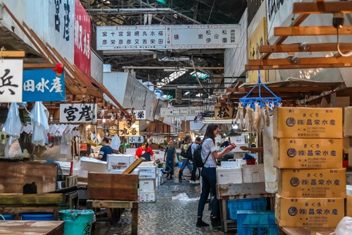 Tsukiji Fish Market Guide